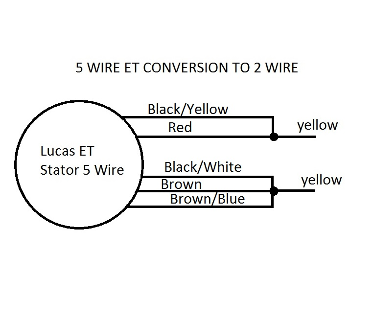 5 wire ET Stator Conversion to 2 wire with Solid State Regulator | JRC  Engineering, Inc.JRC Engineering