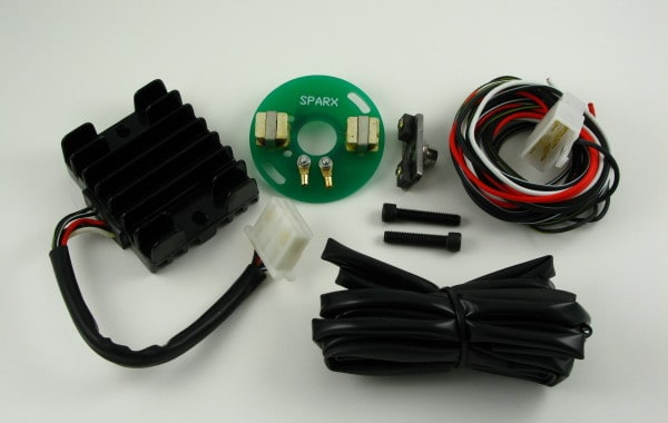 Sparx Electronic Igntion 12Volt Twin/Single Fitting Instructions