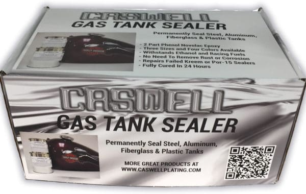 Caswell Tank Sealer Instructions